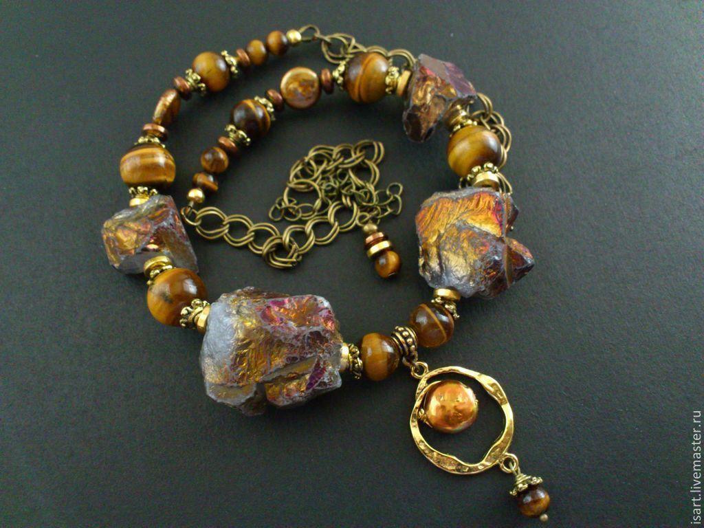 Автрокие украшения из натуральных камней