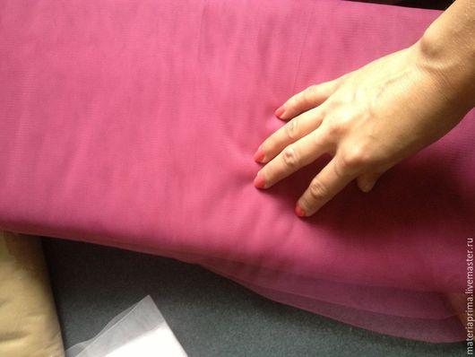 """Шитье ручной работы. Ярмарка Мастеров - ручная работа. Купить Фатин мягкий """"Розовый бутон"""". Handmade. Фатин розовый бутон"""