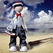 Куклы и игрушки ручной работы. Ярмарка Мастеров - ручная работа Морячок Марсель. Handmade.