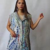 Одежда handmade. Livemaster - original item Felted vest