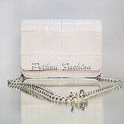 Сумки и аксессуары handmade. Livemaster - original item Handbag made of crocodile SAVOY. Handmade.