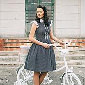 """Одежда ручной работы. Ярмарка Мастеров - ручная работа Платье """"Велосипедная прогулка"""". Handmade."""