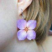 Украшения handmade. Livemaster - original item Copy of the product Hydrangea earrings, polymer clay. Handmade.