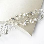 Свадебный салон handmade. Livemaster - original item Wedding decoration for bride hair/wedding hair ornaments. Handmade.