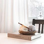 Материалы для творчества handmade. Livemaster - original item 8mm Cedar Wood Knitting Hook. K298. Handmade.