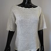 Одежда handmade. Livemaster - original item Blouse with sequins. Handmade.