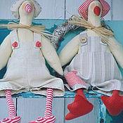 Куклы и игрушки ручной работы. Ярмарка Мастеров - ручная работа Тильда Гусь.. Handmade.