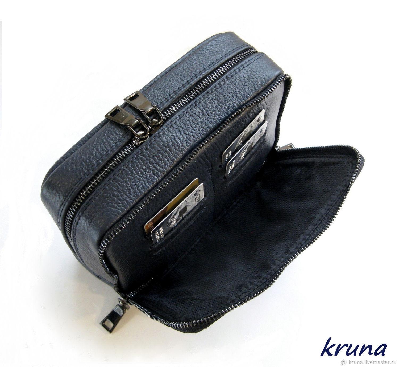 309fb8e5df7c Заказать Мужская сумка-барсетка для документов с тиснением