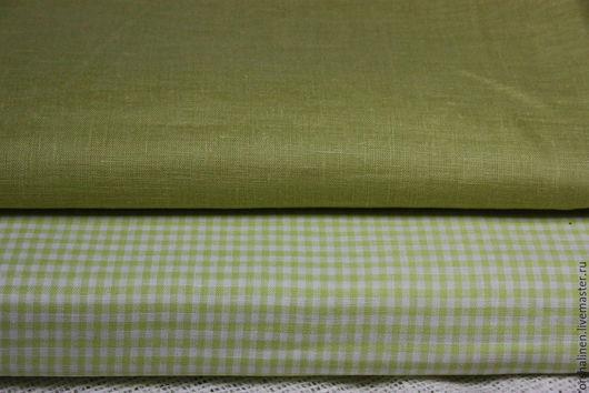 Шитье ручной работы. Ярмарка Мастеров - ручная работа. Купить Ткани -компаньоны для постельного белья. Handmade. Зеленый, ткань для шитья