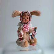 Куклы и игрушки handmade. Livemaster - original item Bunny Teddy doll. Handmade.