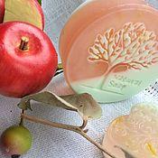 Косметика ручной работы. Ярмарка Мастеров - ручная работа Яблочное мыло. Handmade.