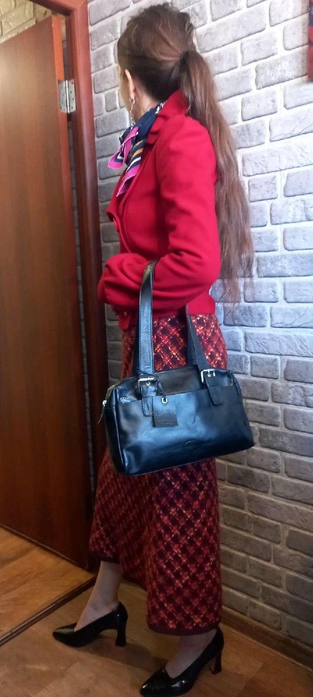 Винтаж: Новая шотландская сумка из натуральной кожи Rowallan, Сумки винтажные, Челябинск,  Фото №1