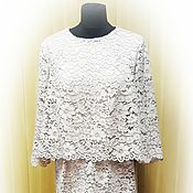 Одежда handmade. Livemaster - original item Lace dress in retro style. Handmade.