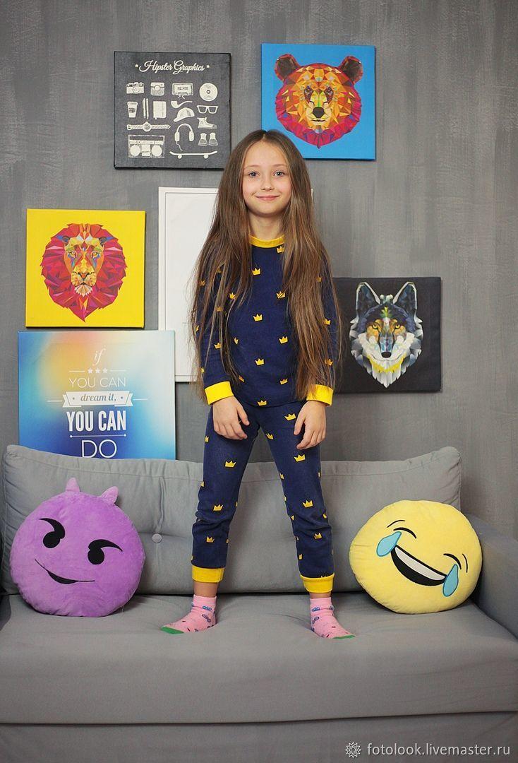 Пижама детская Короны