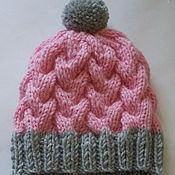 Работы для детей, ручной работы. Ярмарка Мастеров - ручная работа Детская вязаная шапочка. Handmade.