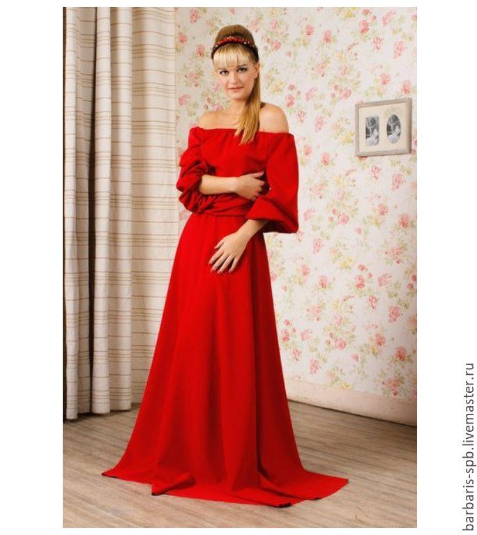 Платье макси в пол купить