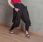 Одежда handmade. Livemaster - original item S_046 Sewn pants Crazy Legs, black. Handmade.