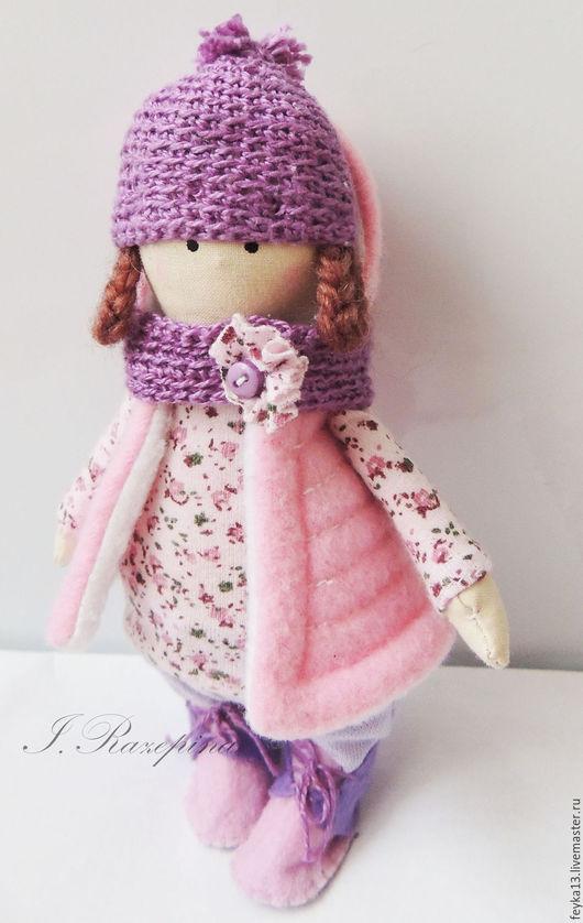 Коллекционные куклы ручной работы. Ярмарка Мастеров - ручная работа. Купить Текстильная кукла.Интерьерная кукла. Handmade. Бледно-розовый
