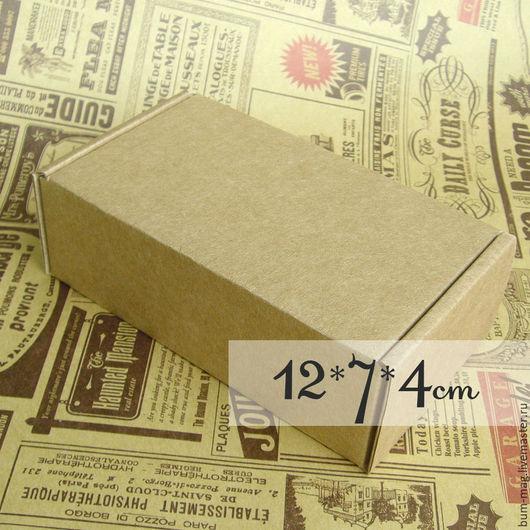 Подарочная упаковка ручной работы. Ярмарка Мастеров - ручная работа. Купить Коробка мгк с ушками (12х7х4см). Handmade. Упаковка