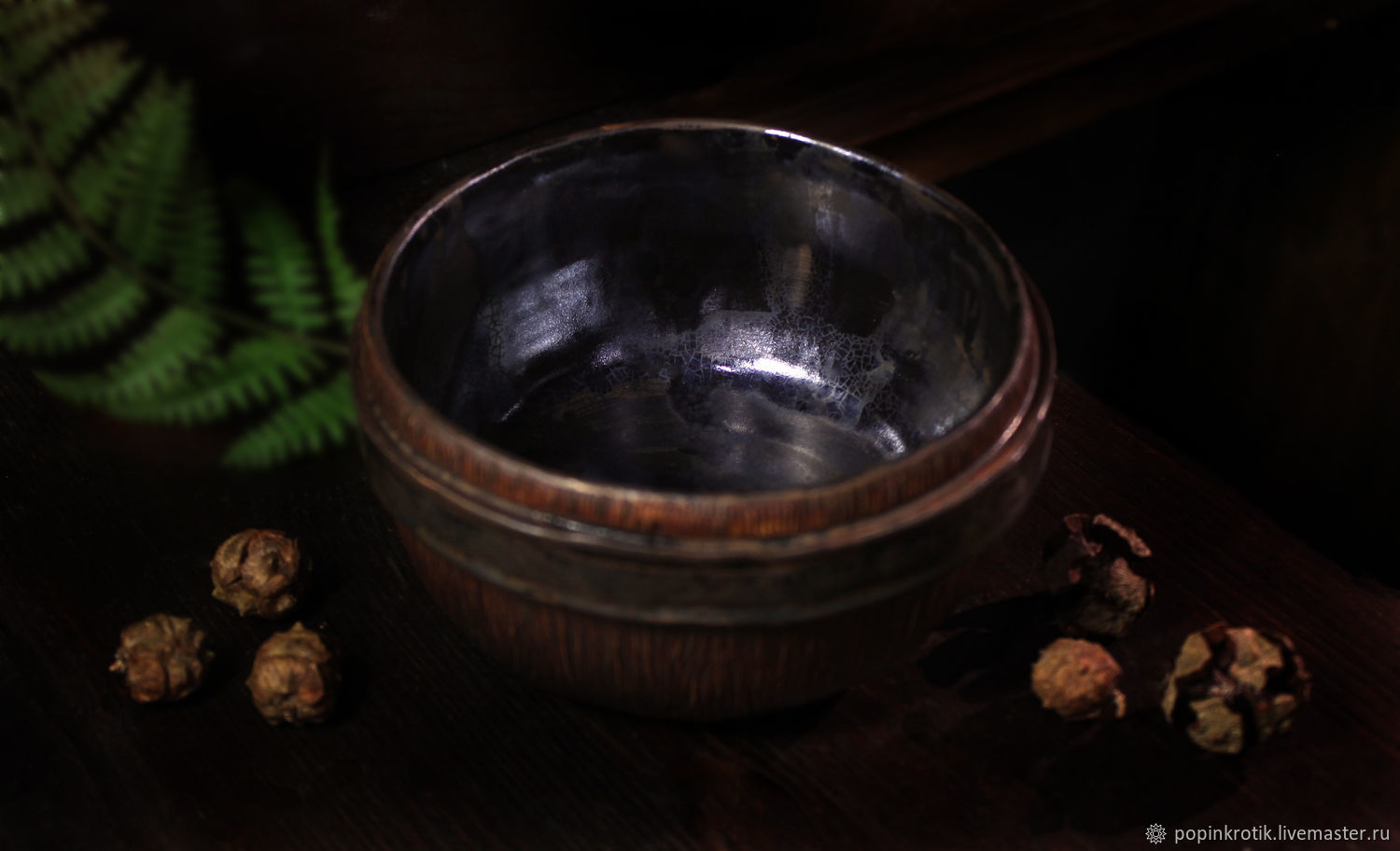 A large Bowl of ' Iron Tree '(III), Bowls, Moscow,  Фото №1