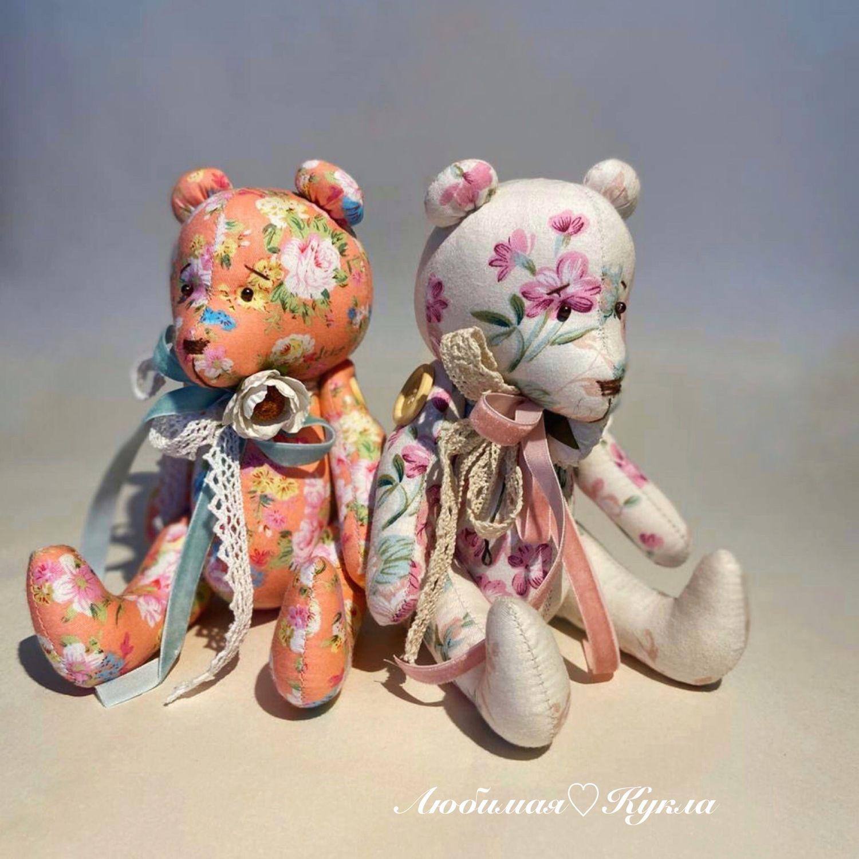 Мишка в стиле «Прованс», Мягкие игрушки, Москва,  Фото №1