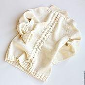 Джемперы ручной работы. Ярмарка Мастеров - ручная работа Свитер детский вязаный. Handmade.