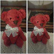 Куклы и игрушки ручной работы. Ярмарка Мастеров - ручная работа мишка Ромашка. Handmade.