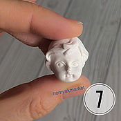 Материалы для творчества handmade. Livemaster - original item Mold No. №7 (form for making a face). Handmade.