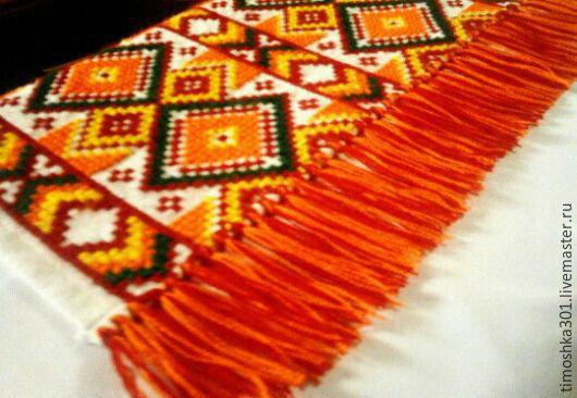 Текстиль, ковры ручной работы. Ярмарка Мастеров - ручная работа. Купить Дорожка на стол. Handmade. Комбинированный, вышитая дорожка, подарок