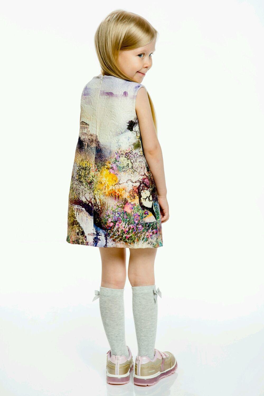Платье в силе Monnalisa,рост 98