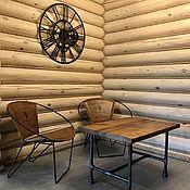 Для дома и интерьера handmade. Livemaster - original item Coffee table made of water pipes (project