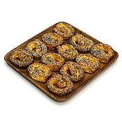 Посуда handmade. Livemaster - original item Square plate of acacia 25h25. Plate for snacks. Handmade.