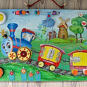 Куклы и игрушки handmade. Livemaster - original item Developmental Board the big