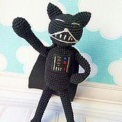 Куклы и игрушки ручной работы. Ярмарка Мастеров - ручная работа Кот Аминеко Дарт Вейдер. Handmade.