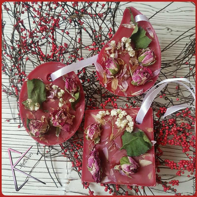 Флорентийское саше (ароматизатор роза)
