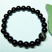 Украшения handmade. Livemaster - original item Bracelet agate waxing moon. Handmade.