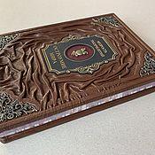 Сувениры и подарки handmade. Livemaster - original item Wit of the world wisdom of the Millennia (leather book). Handmade.