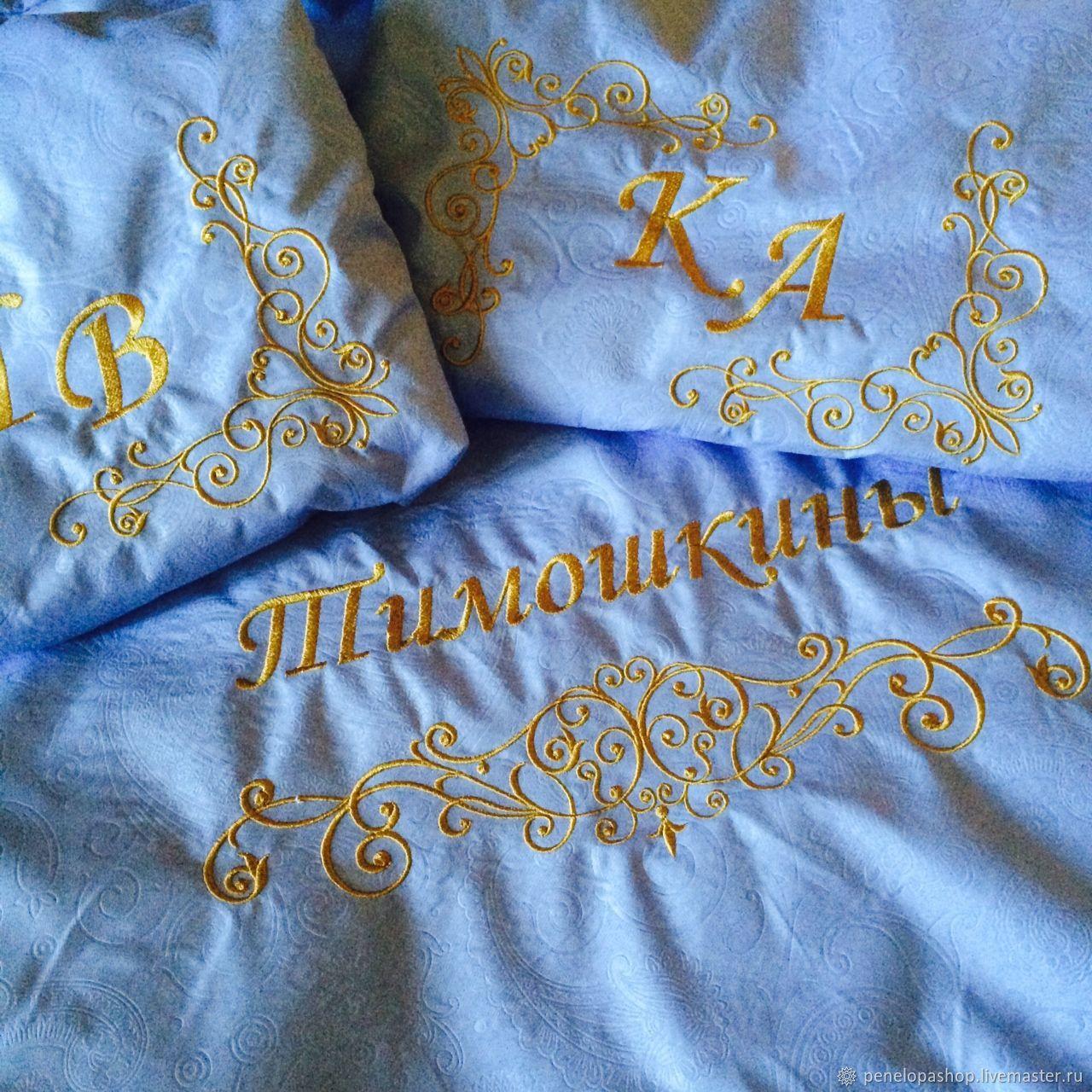 Текстиль, ковры ручной работы. Ярмарка Мастеров - ручная работа. Купить Постельное белье с вышивкой. Handmade. Постельное белье