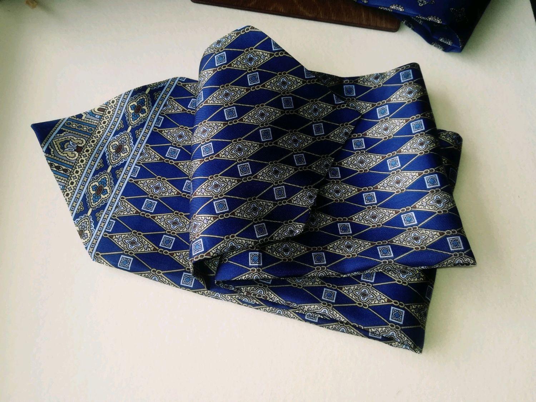 Аскот шейный платок из натурального шелка, Галстуки, Павловский Посад,  Фото №1