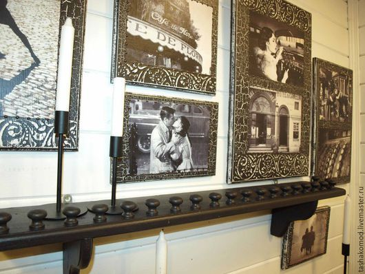 Мебель ручной работы. Ярмарка Мастеров - ручная работа. Купить Венецианский балкончик под заказ (полка для коллекций). Handmade. Полка