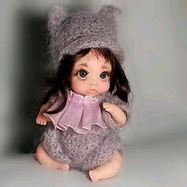 Куклы и игрушки ручной работы. Ярмарка Мастеров - ручная работа Мишель.... миниатюрная кукла из полимерной глины.. Handmade.