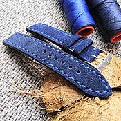 Аксессуары handmade. Livemaster - original item 20mm suede strap. Handmade.