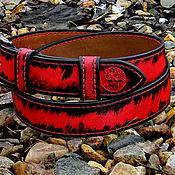 Аксессуары handmade. Livemaster - original item Strap leather for jeans.. Handmade.