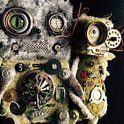 Куклы и игрушки ручной работы. Ярмарка Мастеров - ручная работа КвадроКОТ. Handmade.
