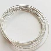 Материалы для творчества handmade. Livemaster - original item Wire partitions cloisonné 0,25h0,68 laminated 925 sterling silver. Handmade.
