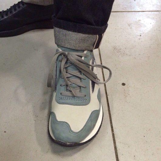 Обувь ручной работы. Ярмарка Мастеров - ручная работа. Купить Кроссовки runner classic,SSwelt atelier. Handmade. Спорт, sswelt