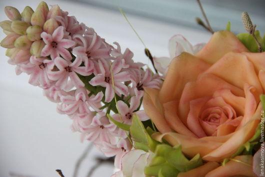Интерьерные композиции ручной работы. Ярмарка Мастеров - ручная работа. Купить Пасхальная композиция. Handmade. Разноцветный, розы, интерьерная композиция