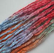 Материалы для творчества handmade. Livemaster - original item Silk chenille (№01) /1 meter. Handmade.