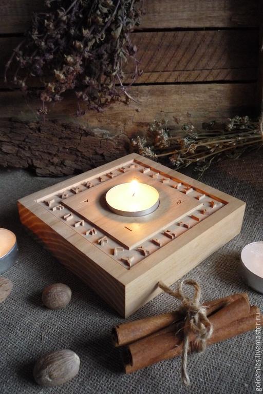 """Медитация ручной работы. Ярмарка Мастеров - ручная работа. Купить Концентратор """"Runes"""". Handmade. Коричневый, желание, рунический амулет"""