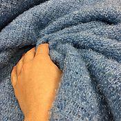 Материалы для творчества ручной работы. Ярмарка Мастеров - ручная работа Шерсть с мохером , цвет голубой нежный 12-1286.. Handmade.